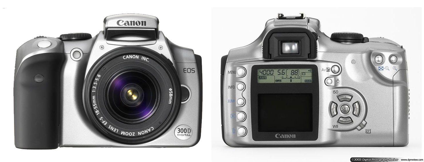 Canon EOS-300D / Digital Rebel: Digital Photography Review