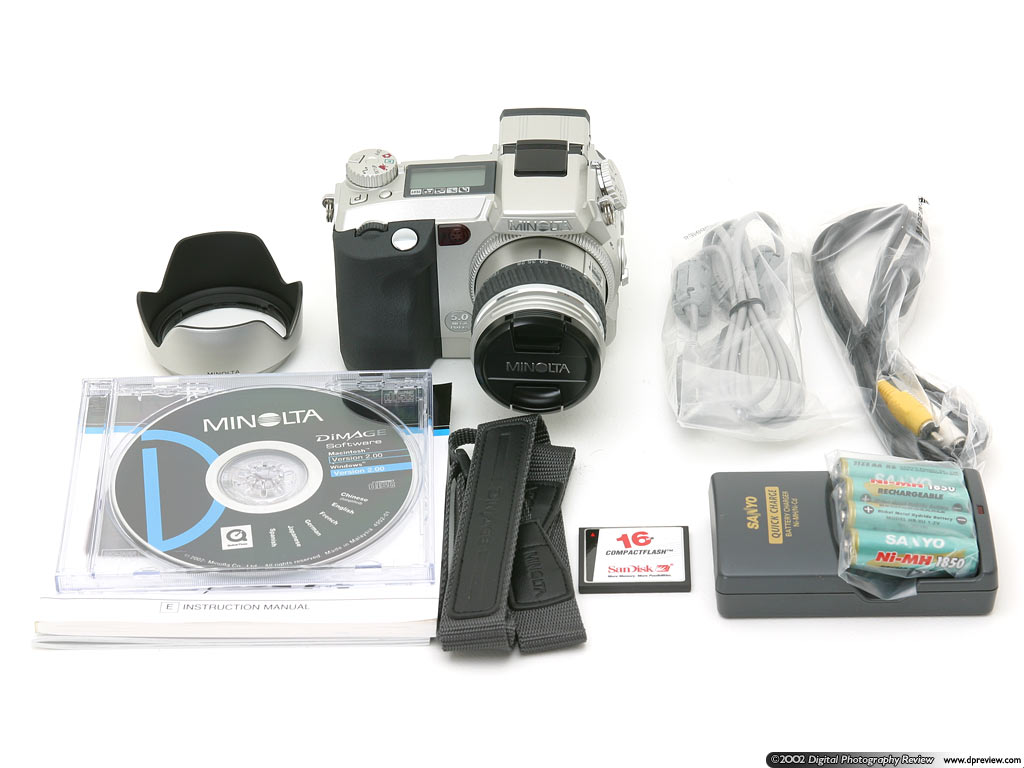 Minolta Dimage 7i Review Digital Photography Pc Camera M Tech 5mp Wb 100 Supplied In The Box Are