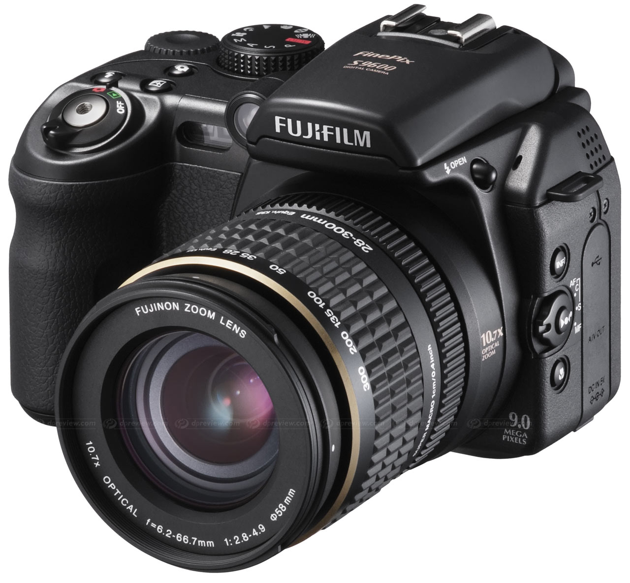 Fujifilm Finepix S9600    S9100  Digital Photography Review