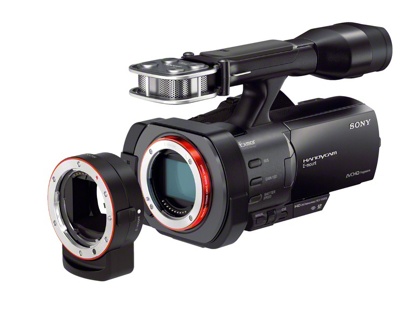 Sony unveils NEX-VG900 full-frame camcorder, VG30 APS-C model and 18 ...