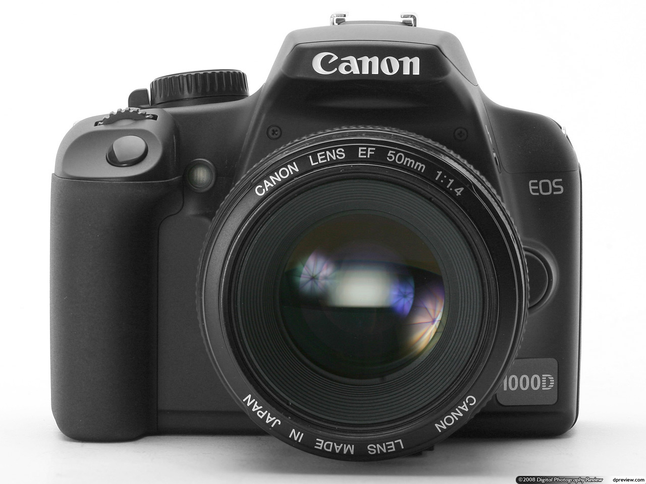 Canon 1000D / Digital Rebel XS review - YouTube