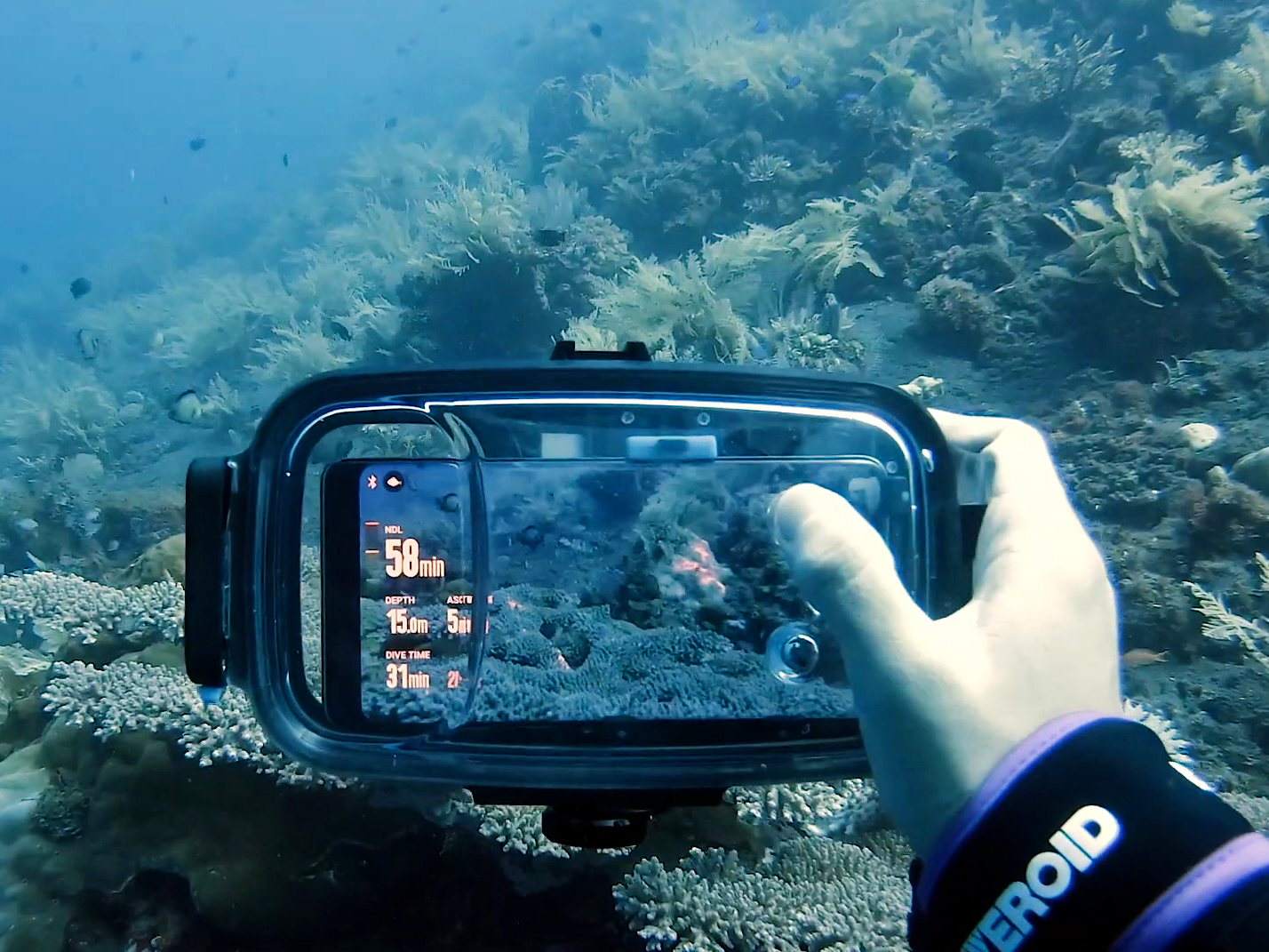Diveroid Housing Turns Your Smartphone Into A Dive Computer And Underwater Camera Digital Photography Review