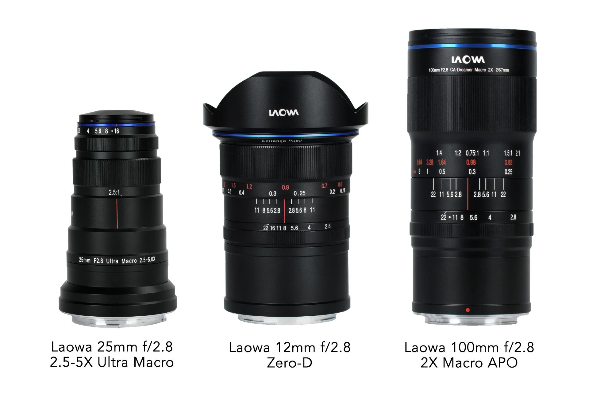 Venus Optics adds Canon RF, Nikon Z mount options to three