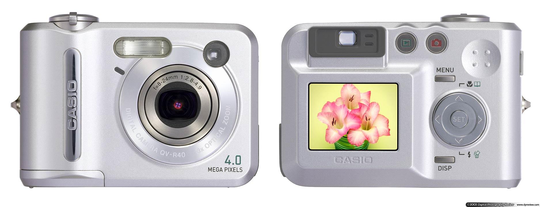 Casio QV-R40: Digital Photography Review