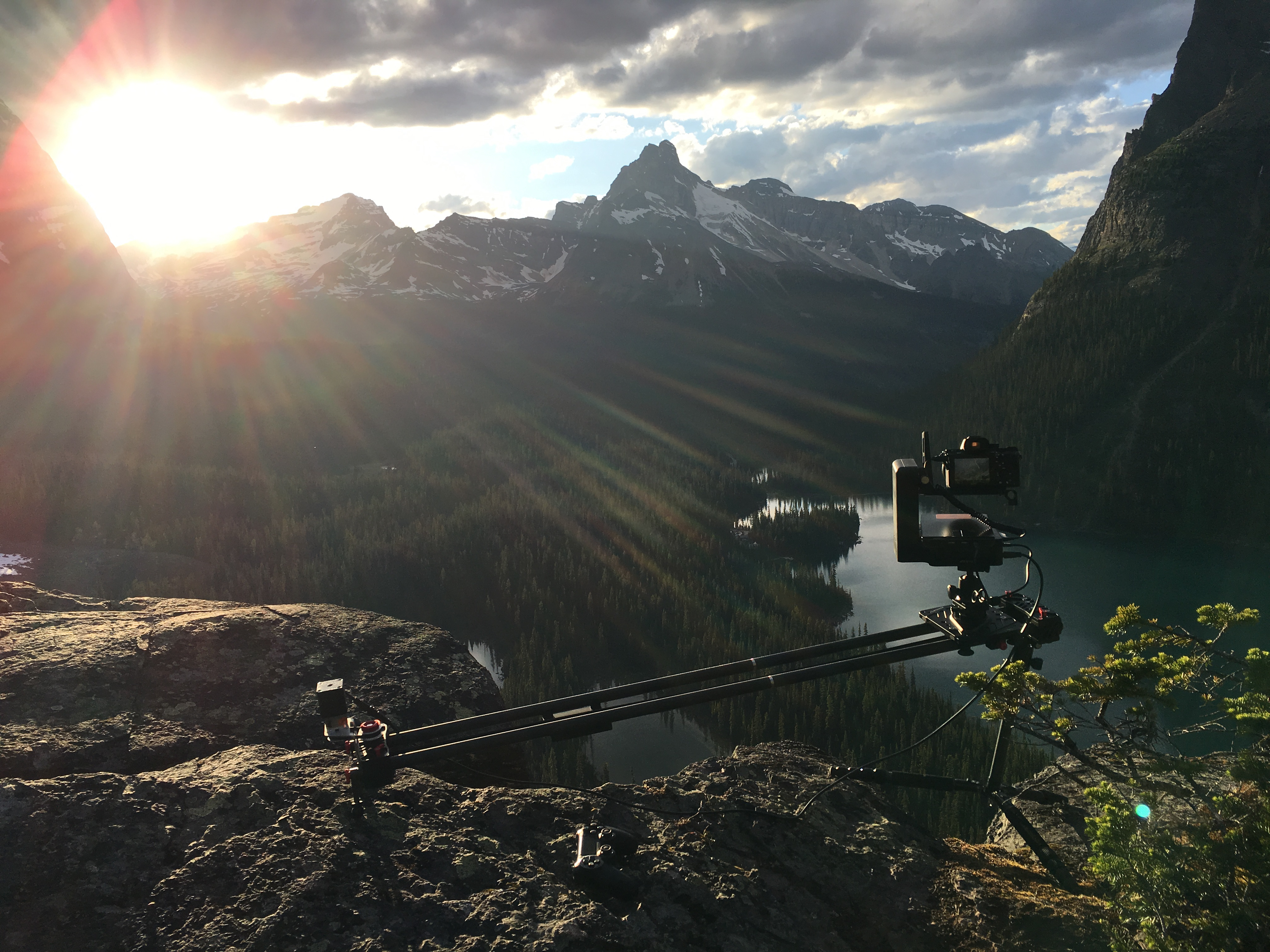 Behind the scenes: Shooting a motion time-lapse in the