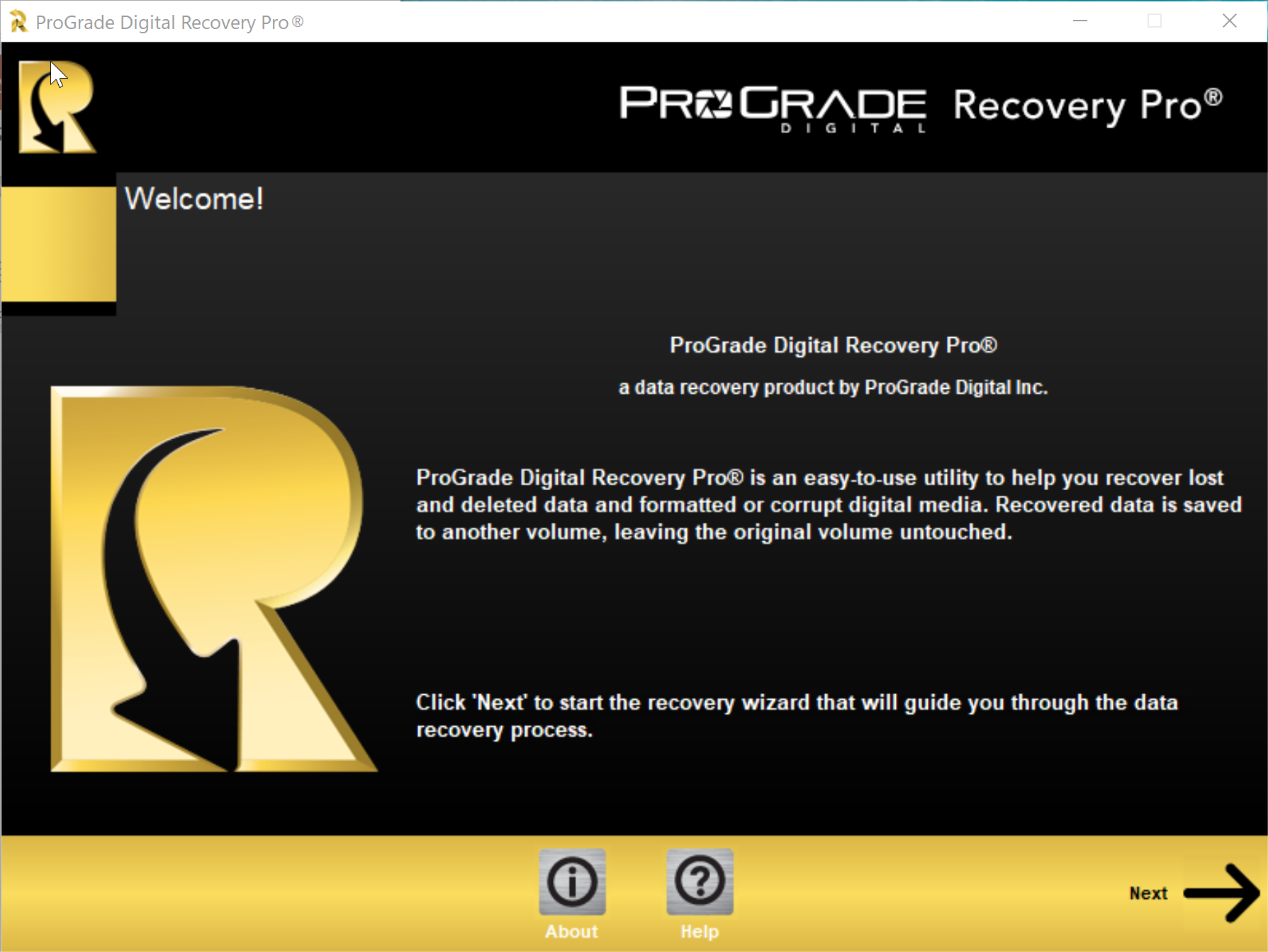 ProGrade Digital launches Recovery Pro, a file recovery program for