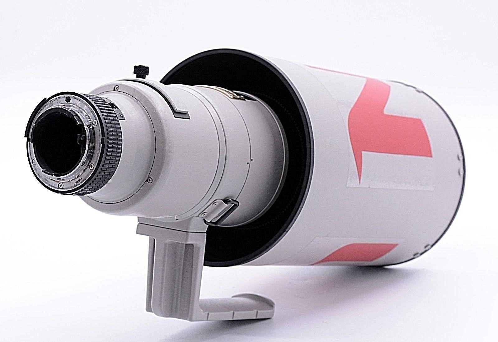 Nikon Af S Nikkor 500mm F4 D Ii Ed Lens With Rare Grey Color