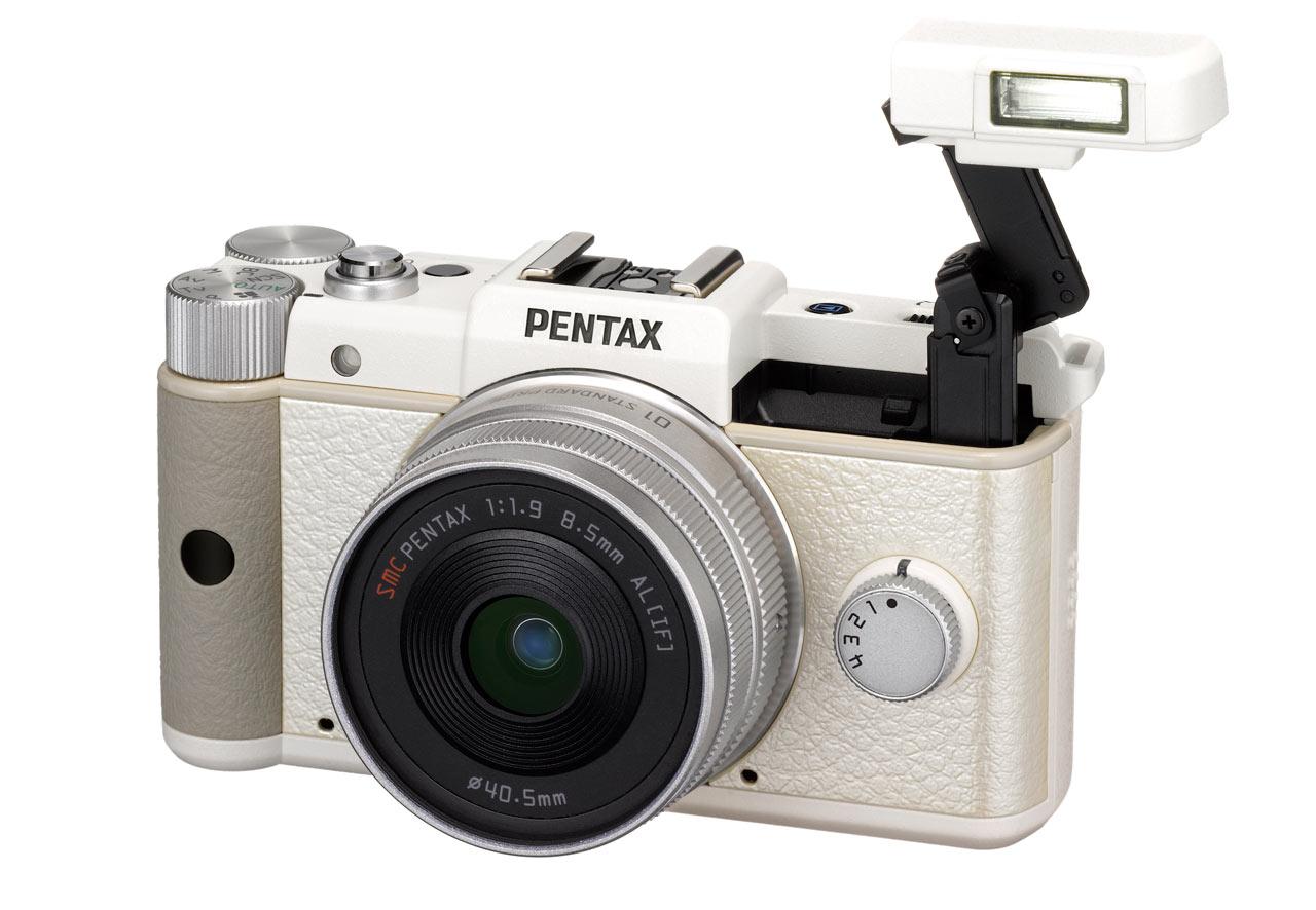 Image result for 4. Kamera Mirrorless Pentax Q
