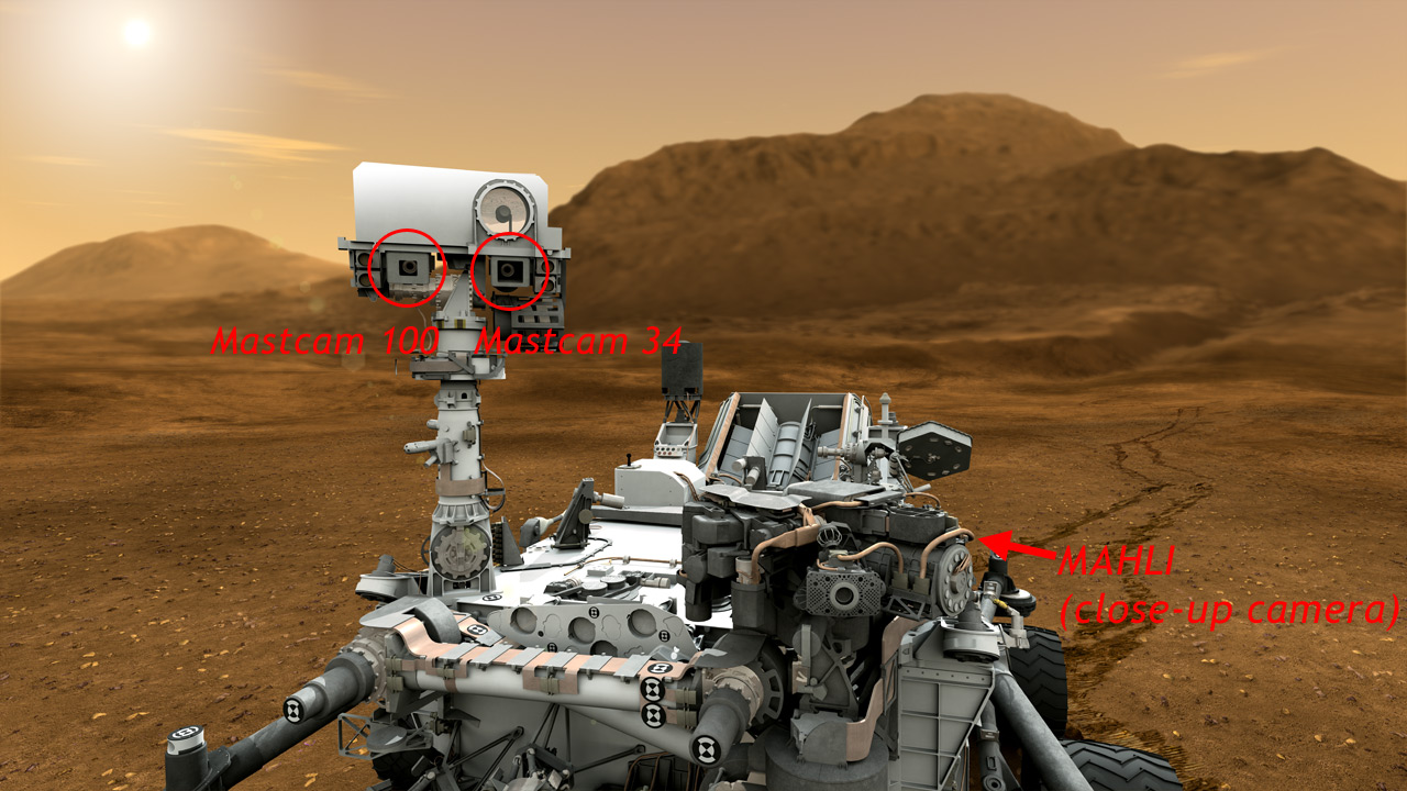 mars rover curiosity live camera - photo #32