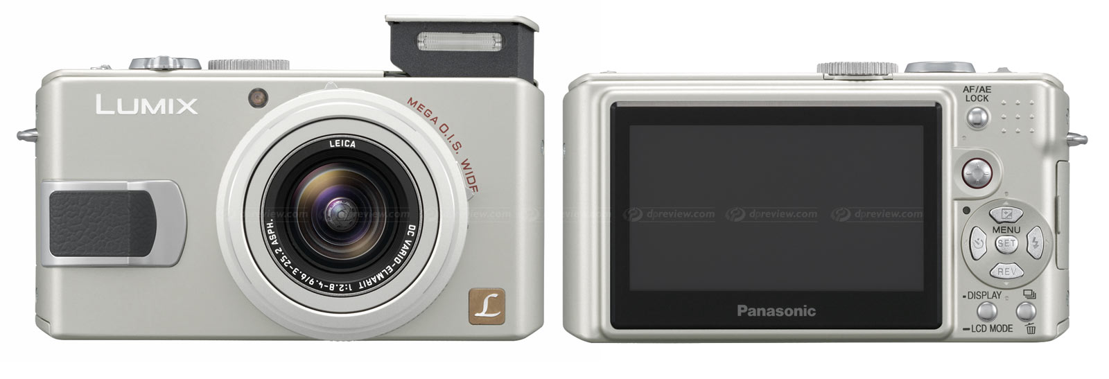 Panasonic Lumix Dmc Lx2 Digital Photography Review 3 Way Switch With Triple Wide Features