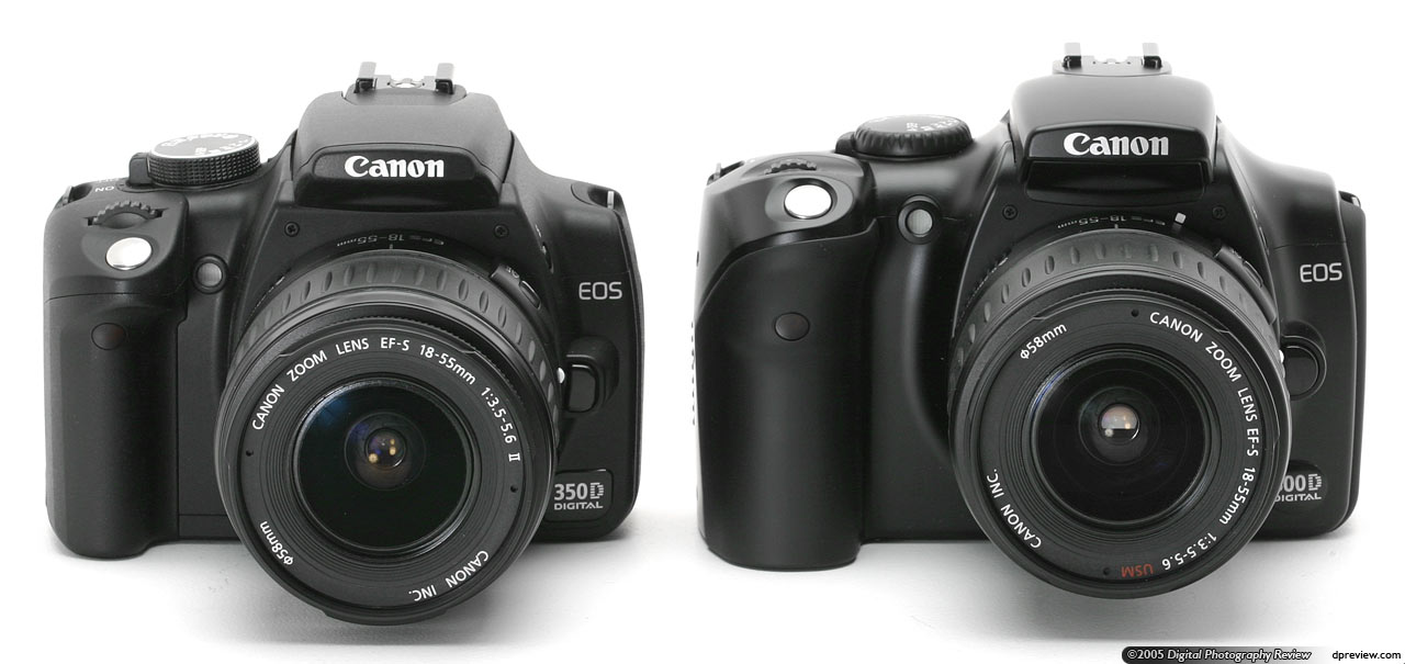 Canon EOS 350D / Digital Rebel XT/ Kiss n Digital Review