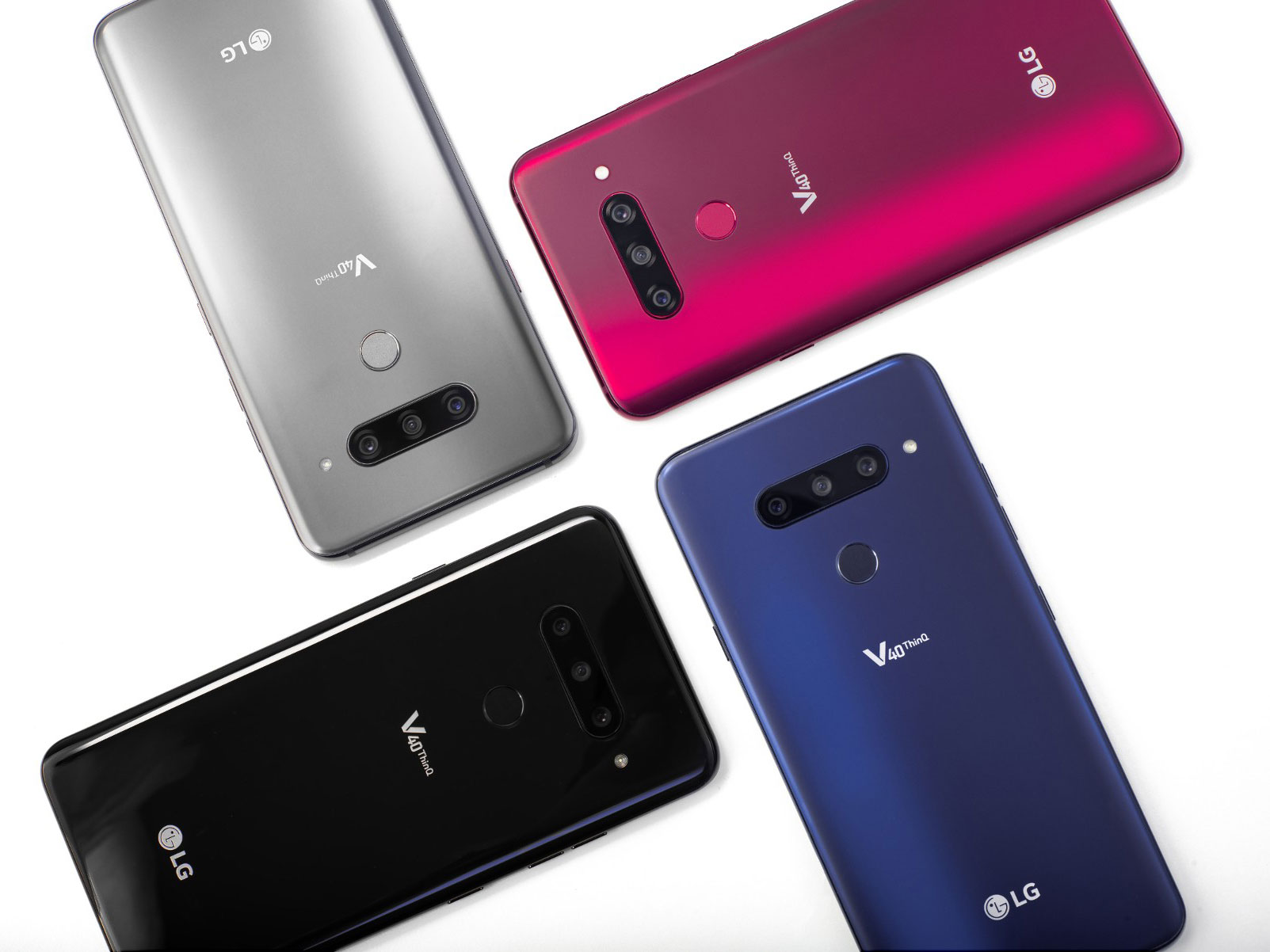 The LG V40 ThinQ is the first smartphone with wide, standard