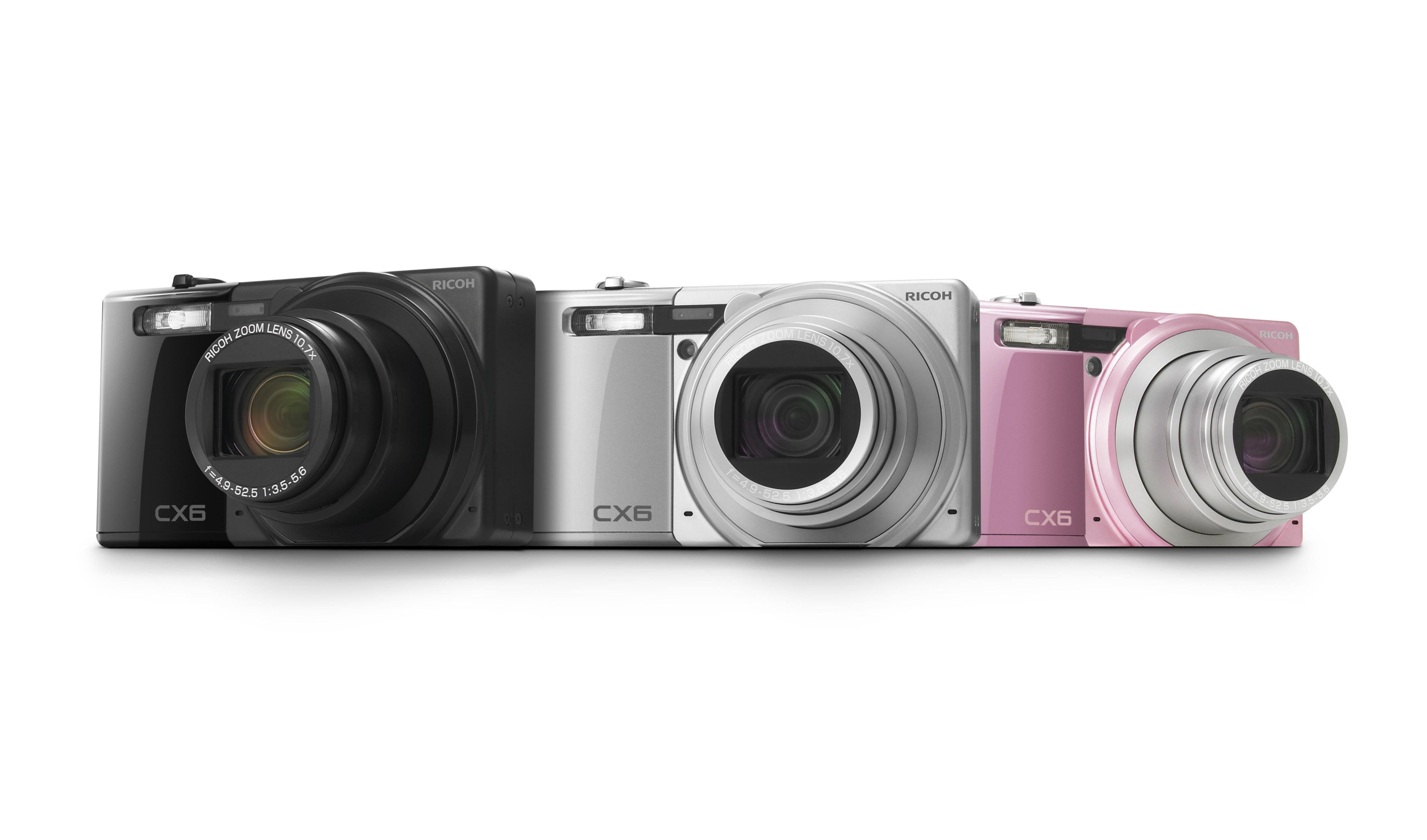 Ricoh Announces Cx6 Cmos Compact Superzoom Digital Photography Review