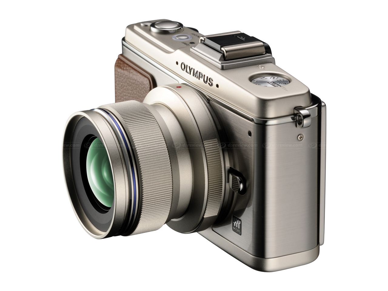 Olympus shows M Zuiko high-end Micro Four Thirds lens mockup