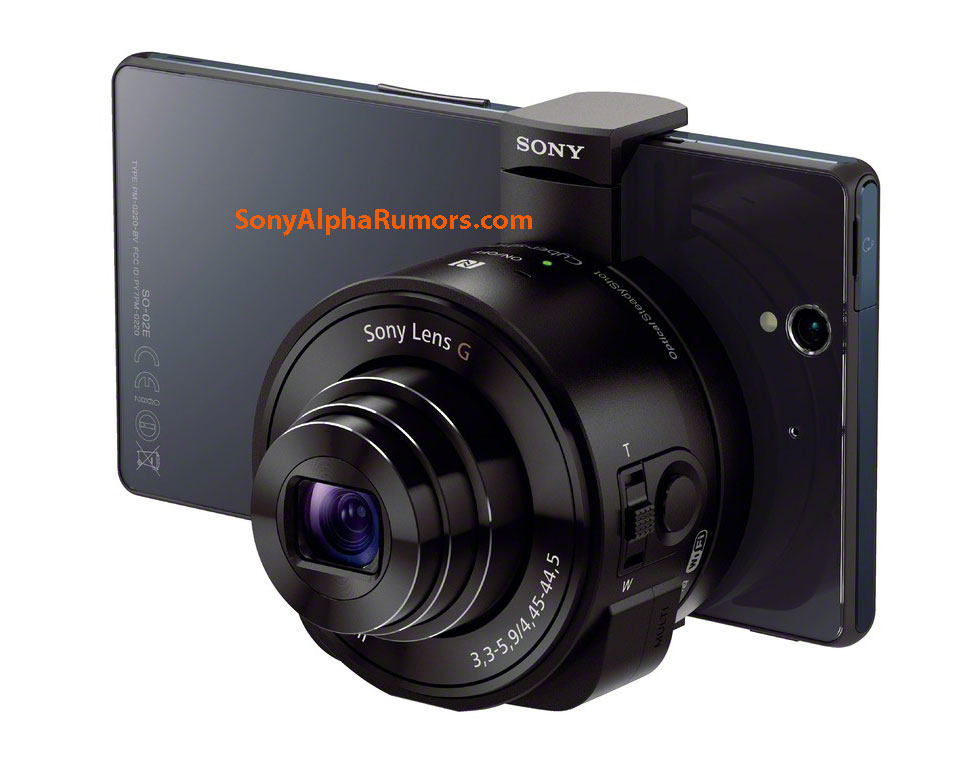 Is Sony making a sensor/lens combo for smartphones?