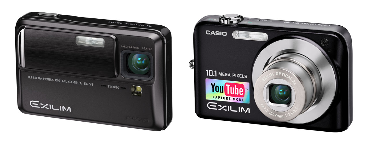 casio exilim ex v8 and ex z1080 digital photography review rh dpreview com Kodak Digital Camera Compact Digital Camera