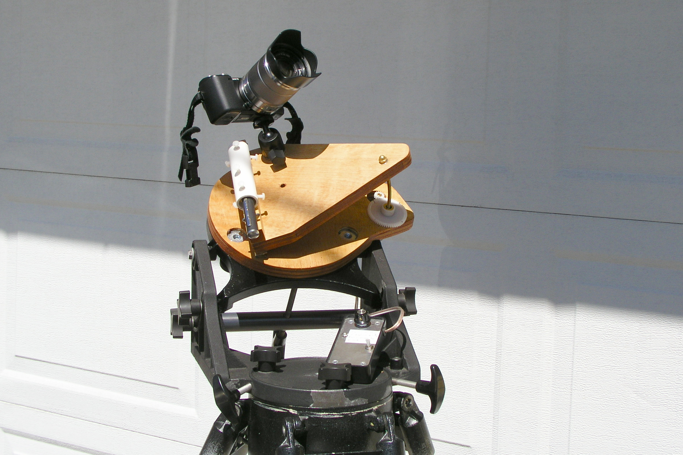Building Using A Tracking Mount For Astrophotography Digital