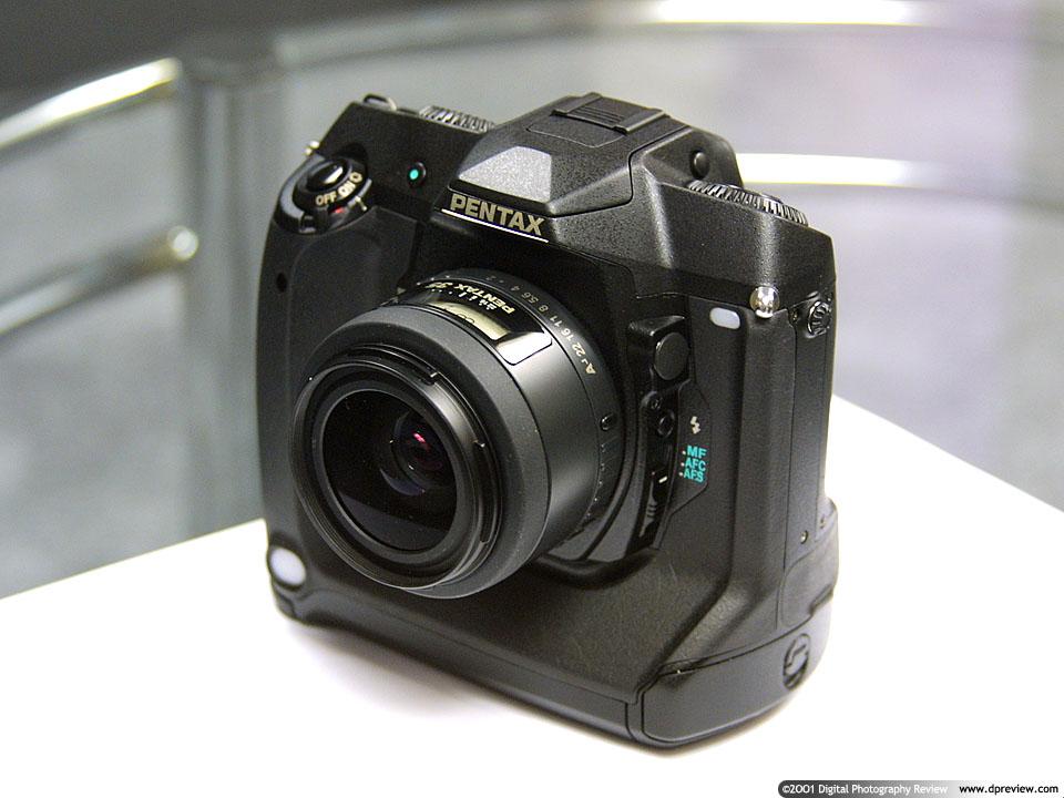 Pentax 6mp Digital SLR hands-on: Digital Photography Review