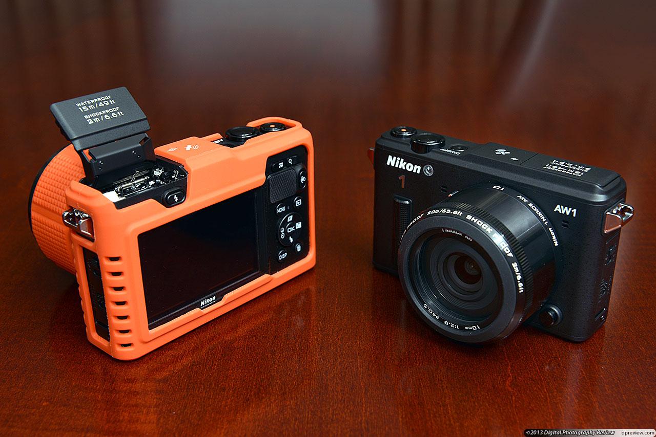 Nikon 1 aw1 manual control cables.