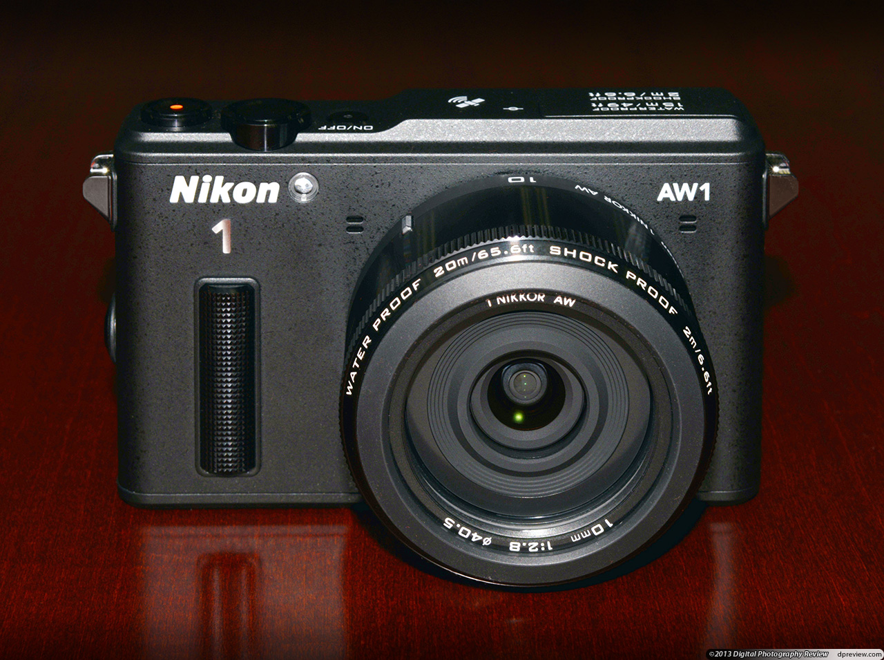 Nikon presented the first mirrorless cameras, shooting 9 and 12 frames per second 22