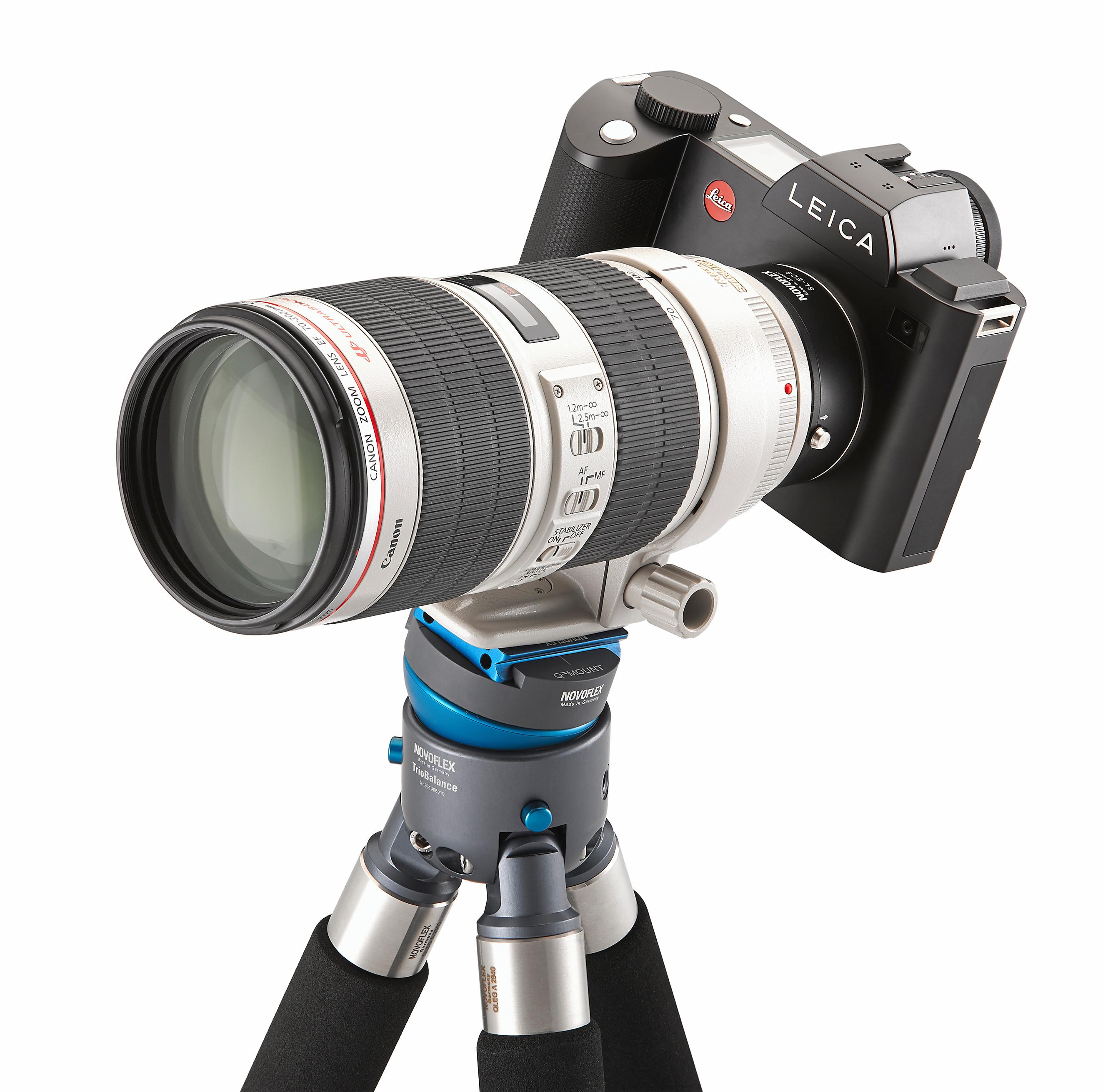 Novoflex releases Canon EF electronic adapter for Leica SL