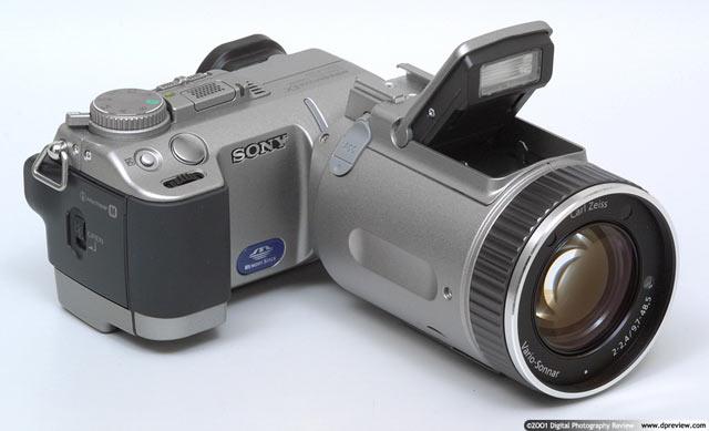 Black Sony DSC-F707 Digital Camera Case Water Resistant Case