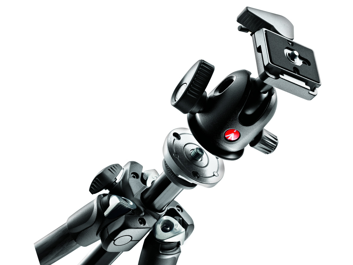 The Manfrotto 294 CF's quick-release friction locks make setup quick and  easy, and hold the legs firmly, when extended.