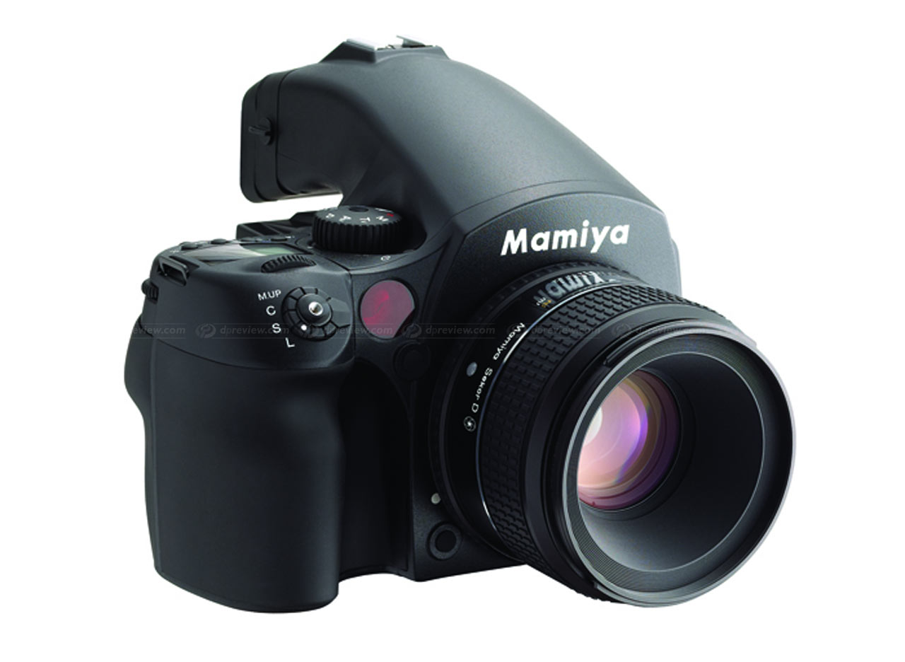 Mamiya Introdces New DM40 Large Sensor DSLR
