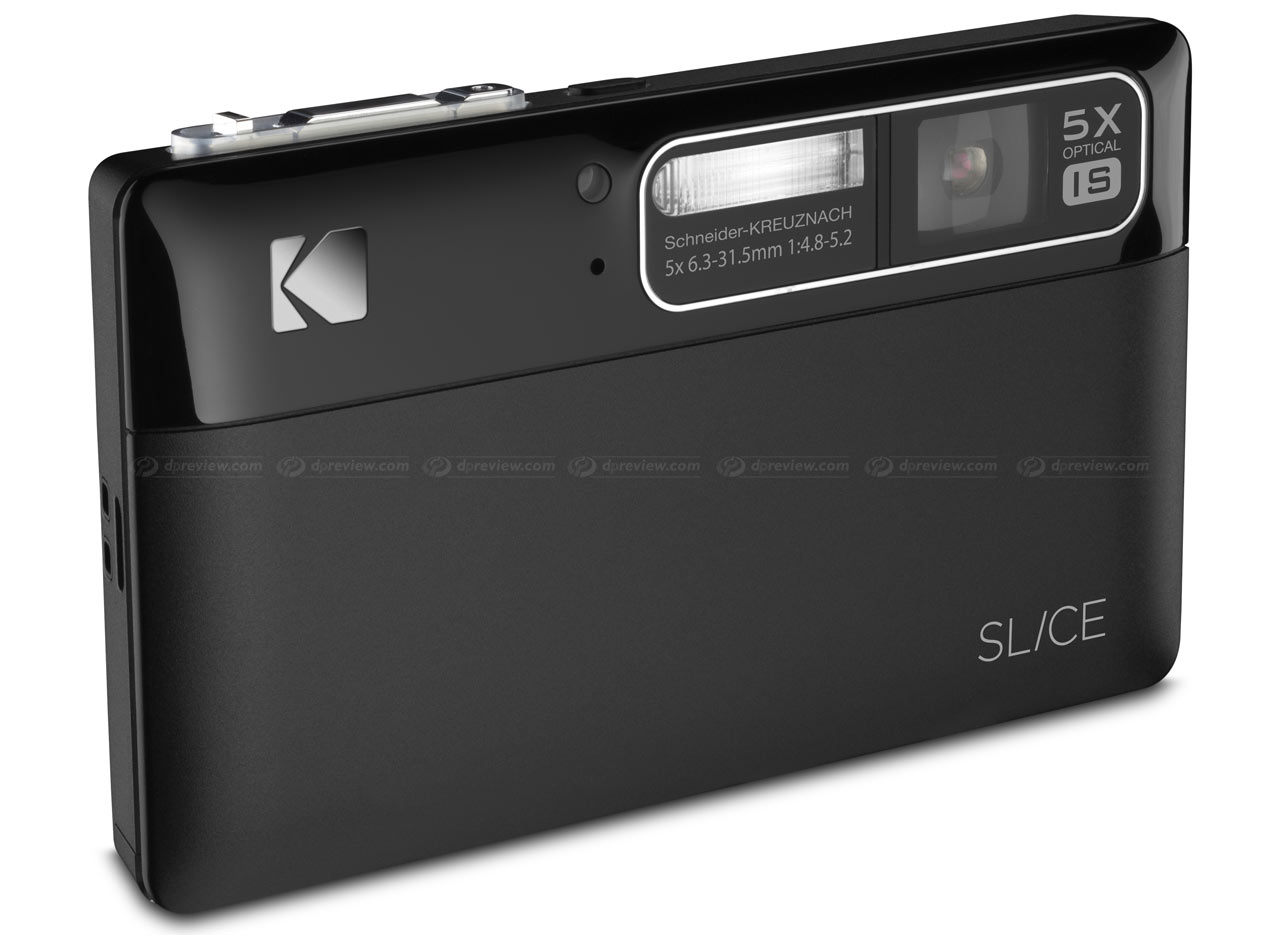 Kodak unveils Slice touchscreen camera: Digital Photography Review
