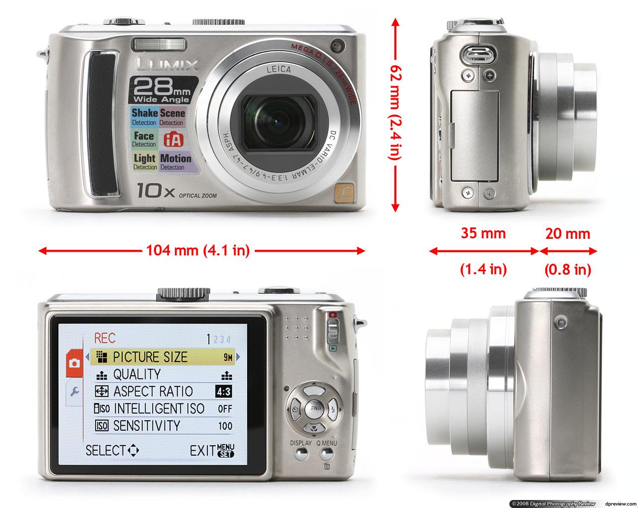 panasonic lumix dmc tz5 concise review digital photography review rh dpreview com Lumix GX7 Lumix Camera 2013