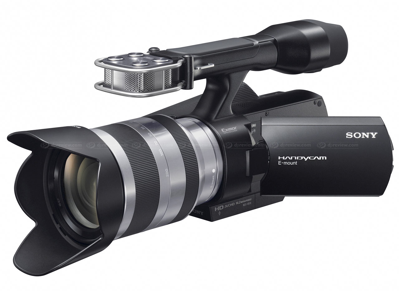 Sony unveils NEX-VG10 E-mount HD camcorder: Digital Photography Review
