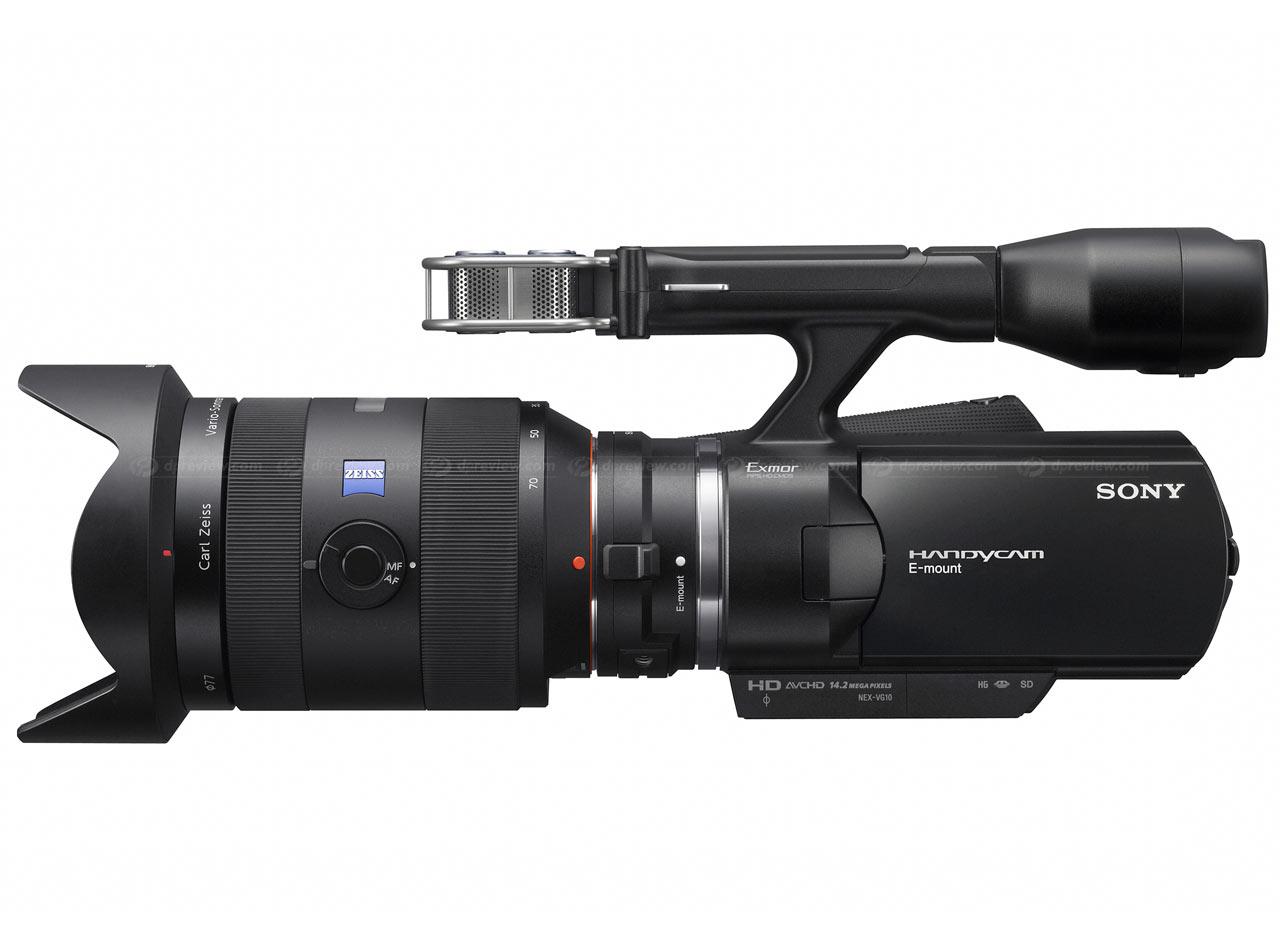 Sony Unveils Nex Vg10 E Mount Hd Camcorder Digital