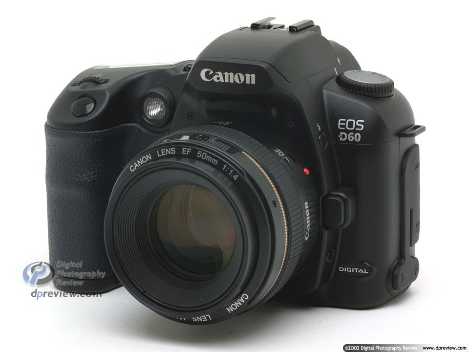 Canon EOS-D60 - 6 megapixel D-SLR: Digital Photography Review
