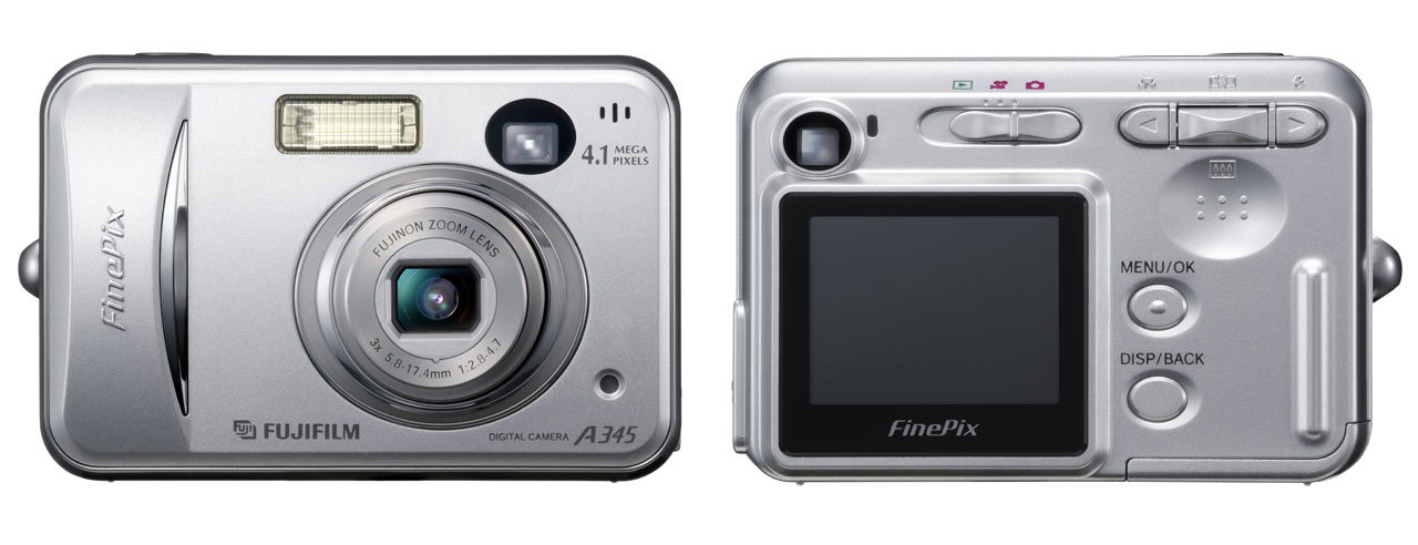Fujifilm Finepix A345 And A350 Digital Photography Review