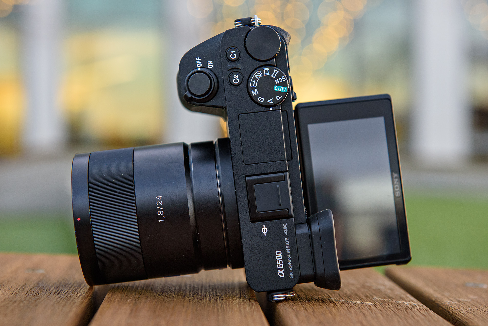 Sony a6500 firmware update improves image stabilization in