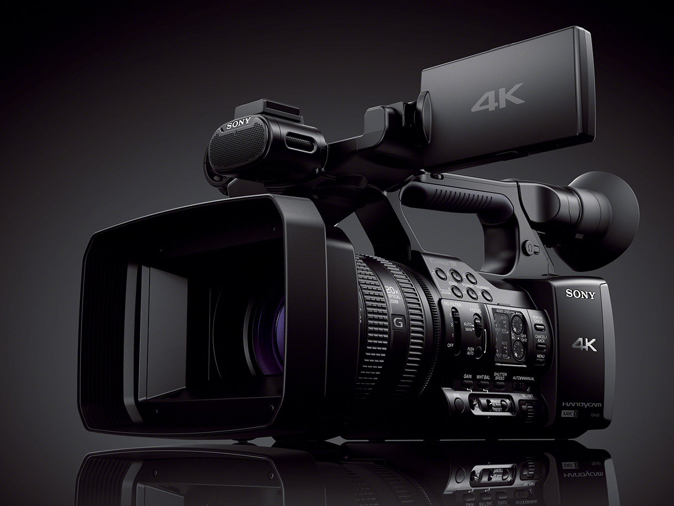 sony video camera 4k. 4, 2013 \u2013 today sony electronics unveiled its first 4k consumer camcorder - the new fdr-ax1 handycam. now video enthusiasts can capture content for camera 4k m