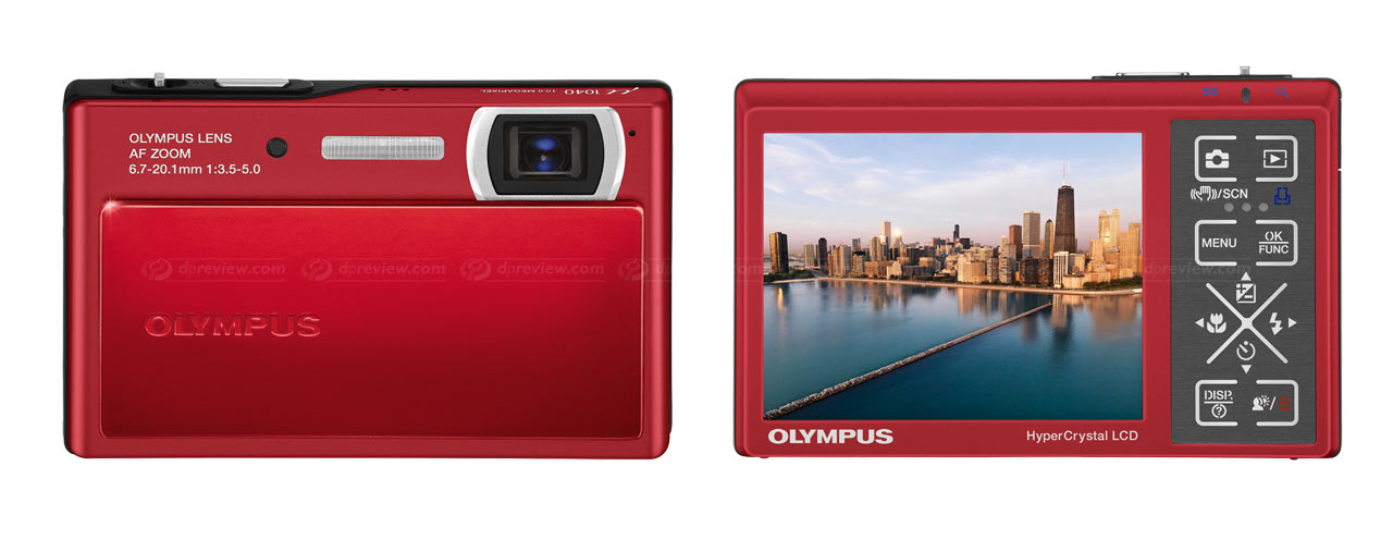 olympus announces mju 1040 digital photography review rh dpreview com Olympus Mju Tough Olympus Mju Tough