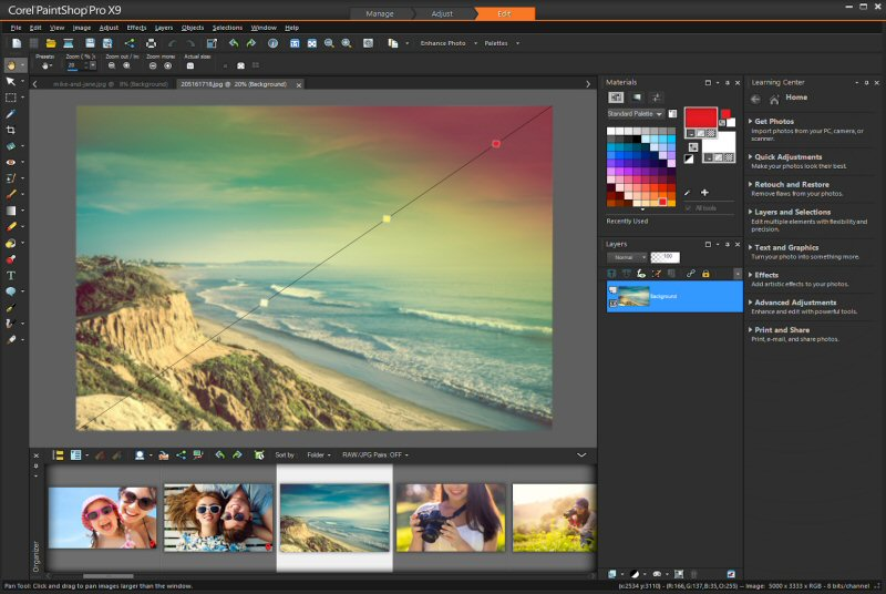Corel paintshop pro x9 arrives with improved workflow for Corel video studio templates download