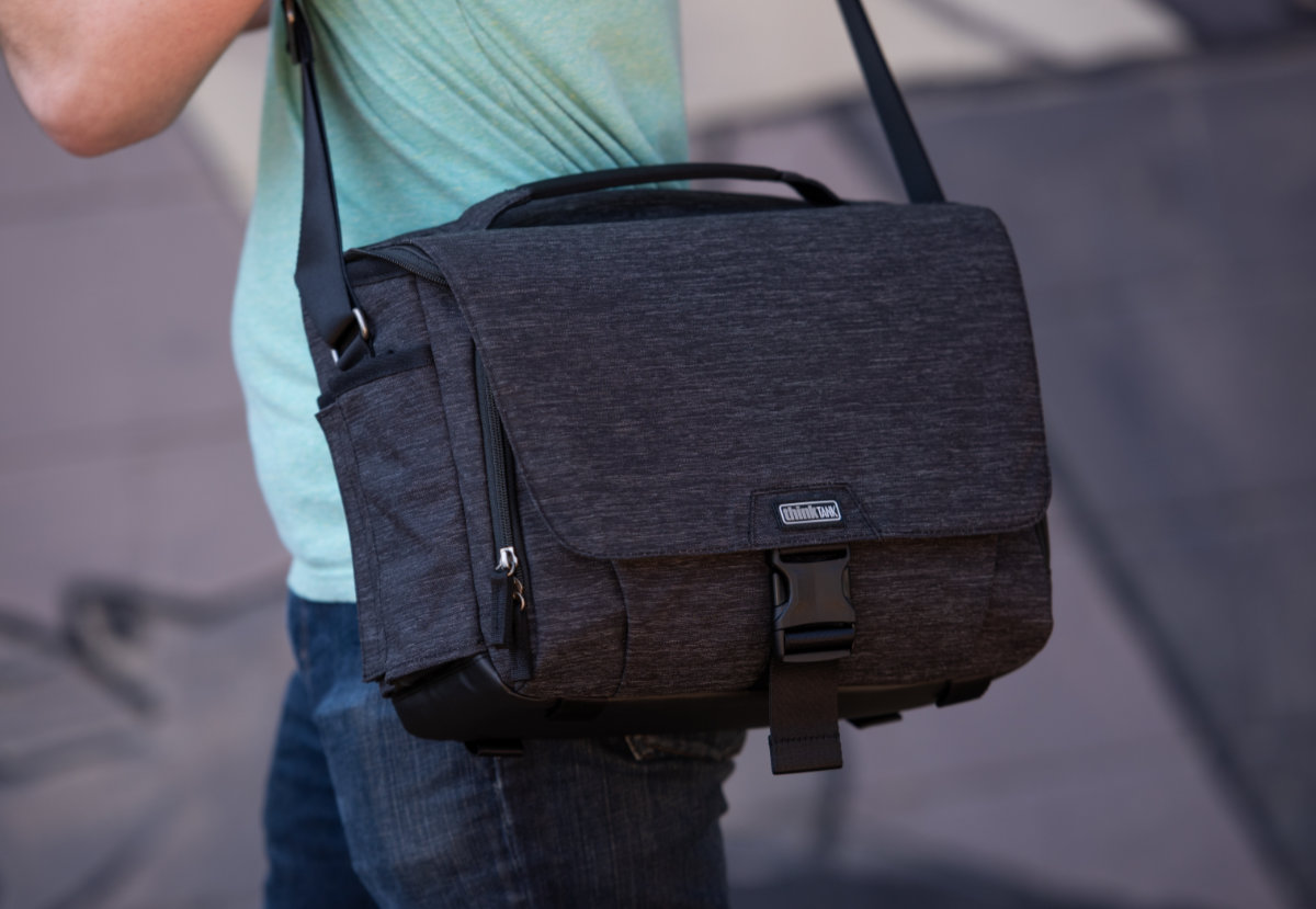 Think Tank Photo Launches Vision Shoulder Bags For Dslr And