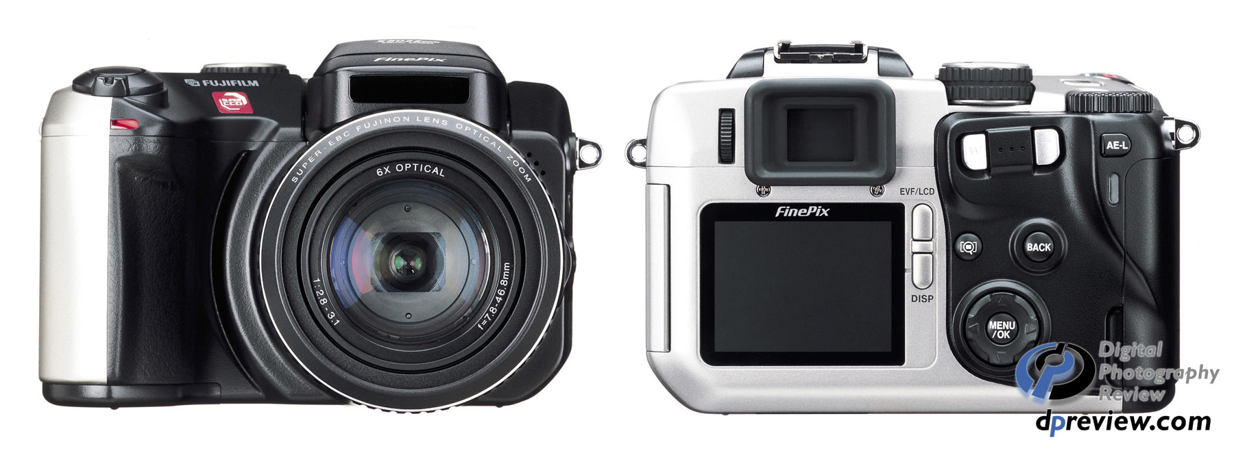 Fujifilm FinePix S602 Zoom specifications