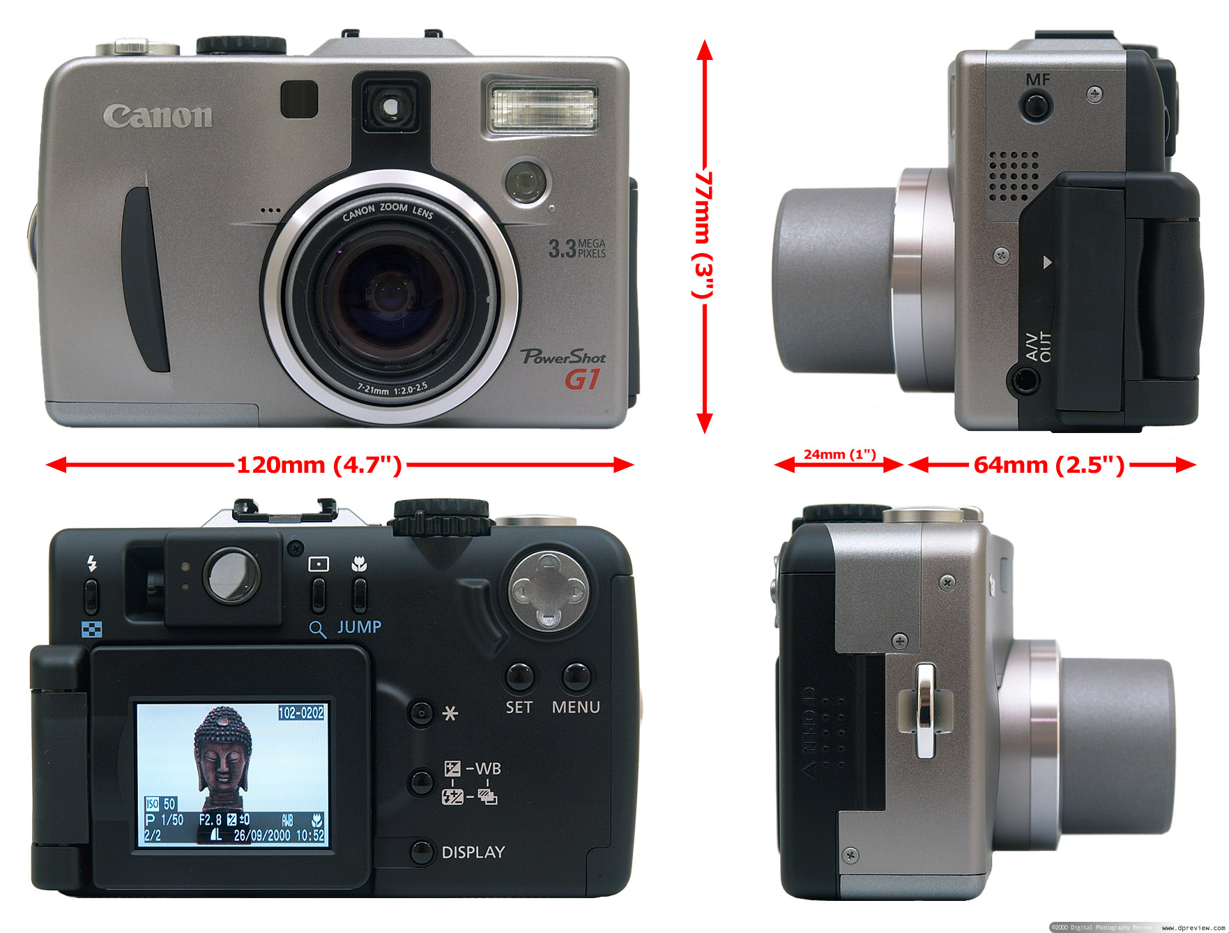 Canon G1 Review Digital Photography Review