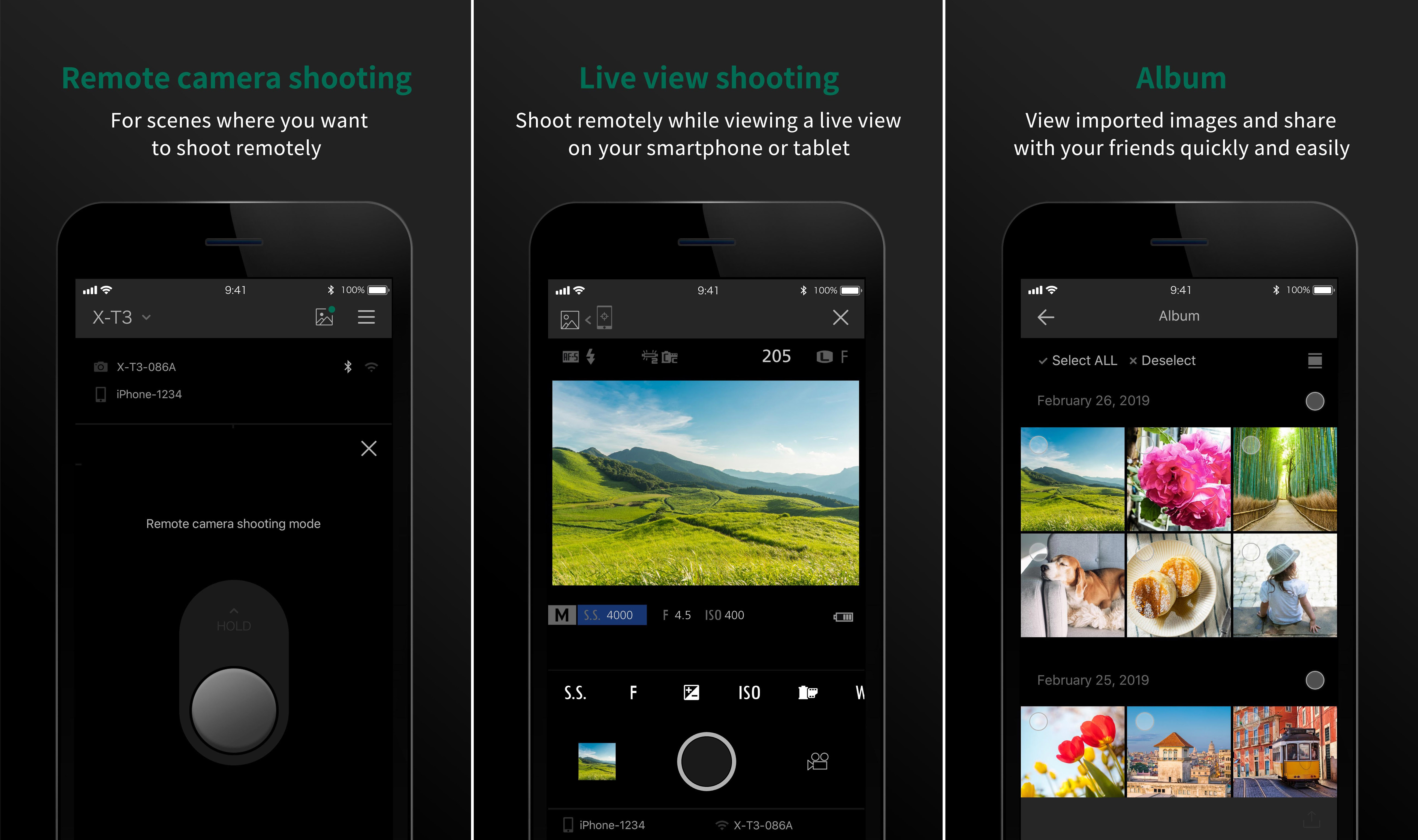 Fujifilm Camera Remote app version 4 0 0 for Android is now