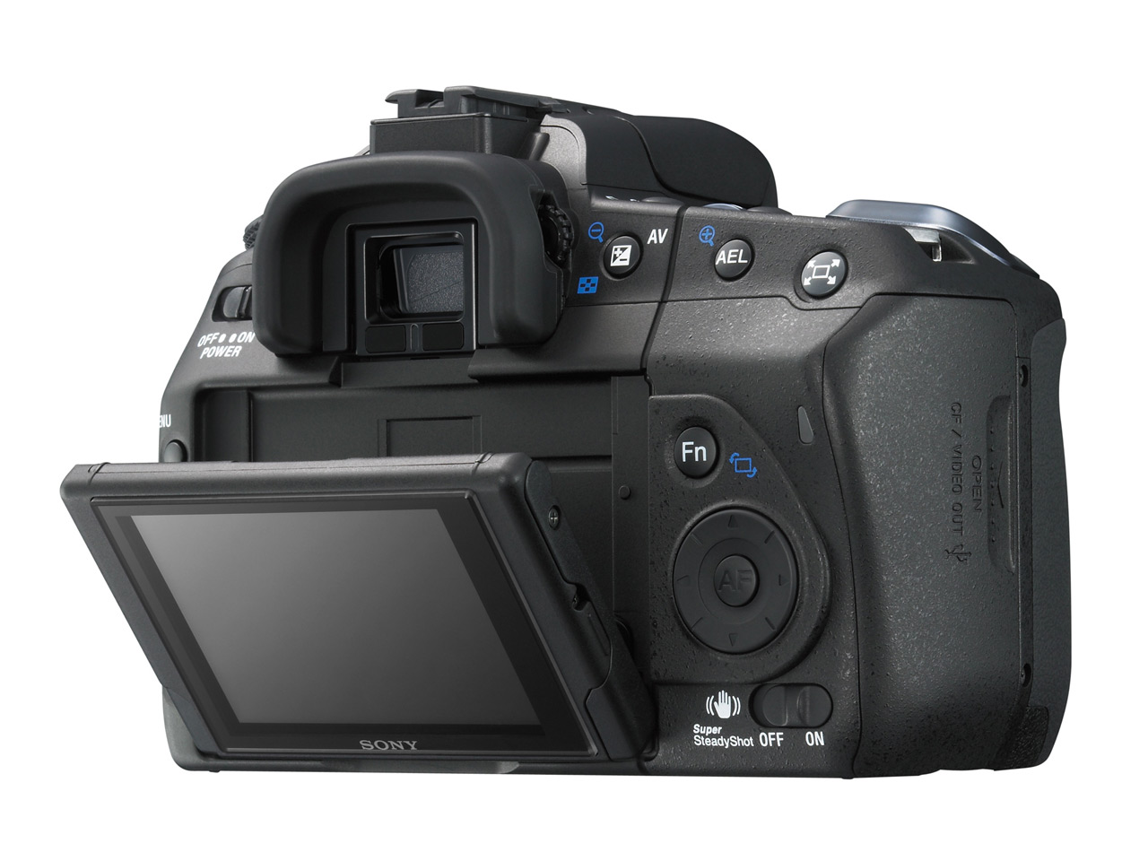 Camera Sony Dslr A300 Camera sony announces alpha 300 and 350 digital photography review the lcd can be tilted up for waist level shooting or down overhead shots