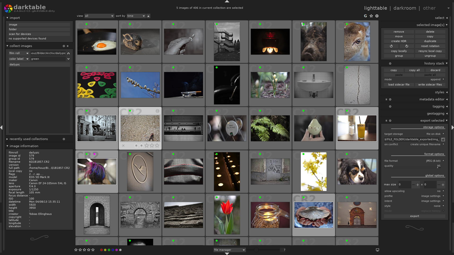 Darktable 2 6 0 update brings new retouch, color balance