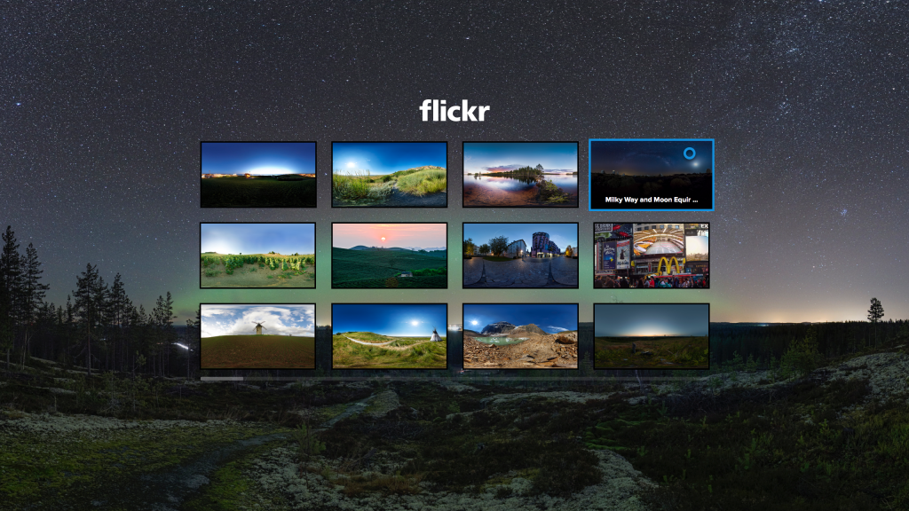 Flickr launches 360 degree image viewing app for Samsung