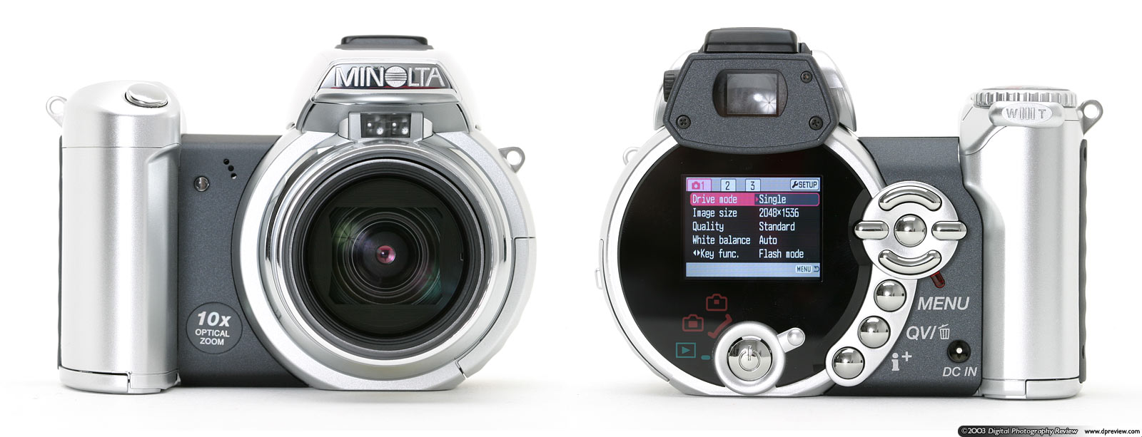 MINOLTA INTRODUCES A BREAKTHROUGH IN DIGITAL CAMERA DESIGN AND ENGINEERING