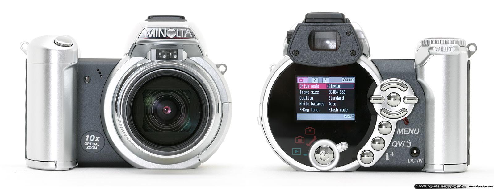 minolta introduces a breakthrough in digital camera design and engineering - Minolta Digital Camera