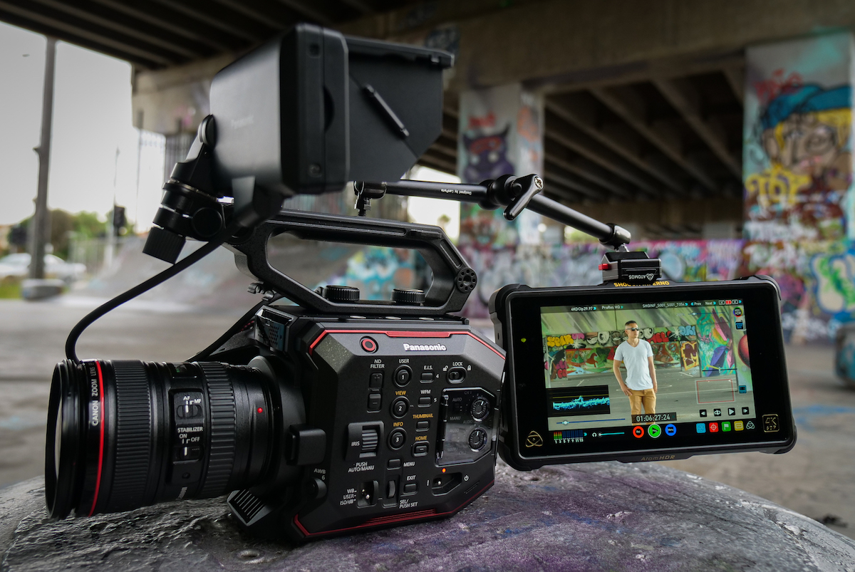 Free Atomos Shogun Inferno Update Will Let You Capture 57k Raw On Panasonic Wiring Harness Ebay The Eva1 Digital Photography Review