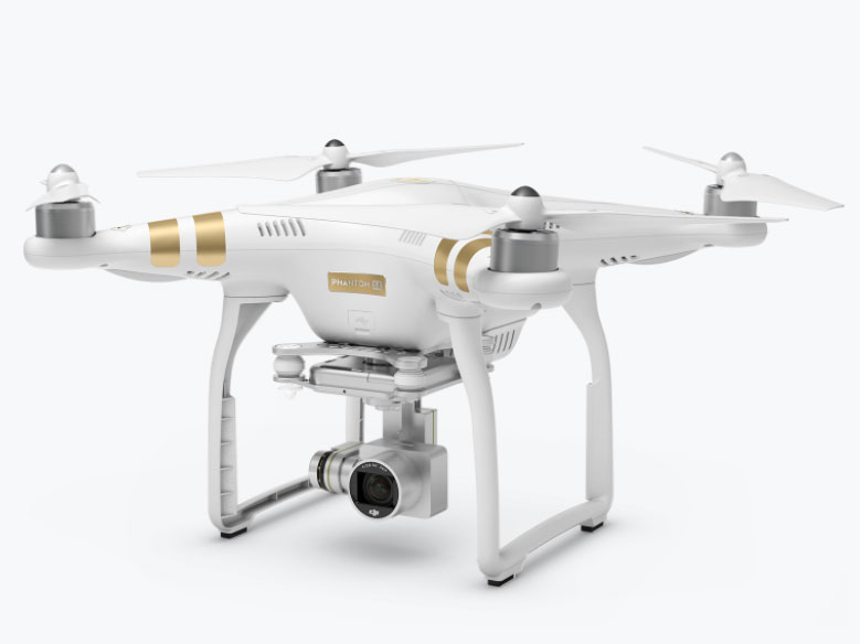 135545097cc DJI has added a new drone model to its portfolio. The DJI Phantom 3 SE is  targeted at beginner pilots and offers a flight time of 25 minutes.