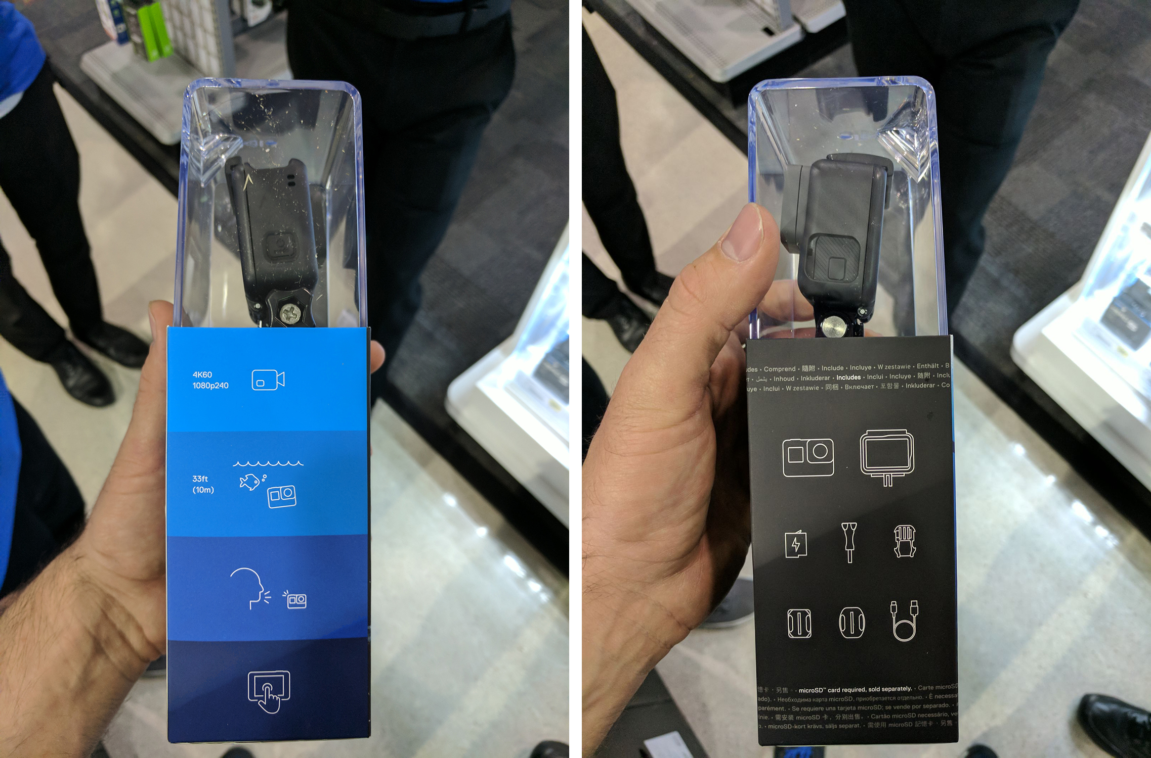 GoPro Hero6 leaked again: Shoots 4K at 60fps, 1080p at